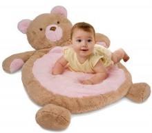 Bear Mat Pink
