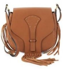 Fringed Leather Saddle