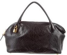 Marc Jacobs Textured Leather Ava Satchel