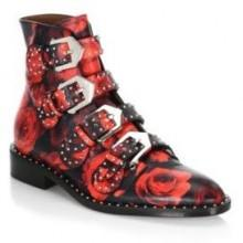Givenchy Studded Rose Ankle Booties