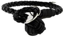 Bottega Veneta Nero Intrecciato Nappa Bracelet