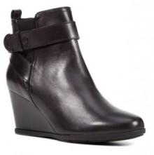 Women's Geox Inspiration Buckle Wedge Bootie