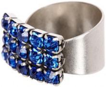 Alex and Ani Arctic Topaz Glam Adjustable Ring