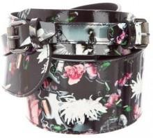 McQ by Alexander McQueen Printed Waist Belt w/ Tags