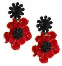 Kate Spade New York Precious Poppies Drop Earrings
