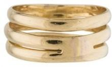 14K Wide Band Ring