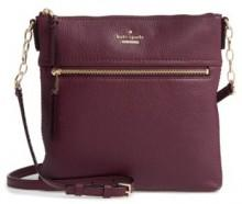 Kate Spade New York Jackson Street - Melisse Crossbody Bag - Purple