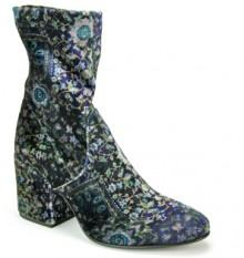 275 Central - A2829 - Blue Velvet Ankle Bootie